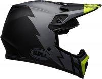 BELL KASK OFF-ROAD MX-9 STRIKE MATT GREY/BL/HI VIZ