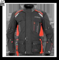 BUSE  Kurtka motocyklowa Highland czarno-czerwona