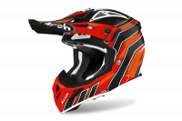 AIROH KASK OFF-ROAD AVIATOR ACE ART ORANGE GLOSS