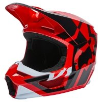 FOX KASK OFF-ROAD V1 LUX FLUORESCENT RED