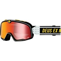 100 PROCENT GOGLE FA20 BARSTOW GOGGLE DEUS RED MIR