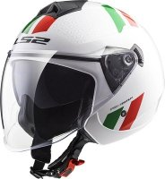 KASK LS2 OF573 TWISTER COMBO WHITE GREEN RED