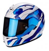 SCORPION KASK INTEGRALNY EXO-710 AIR FURIO BLUE