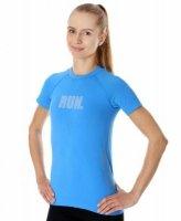 Brubeck SS13270 Koszulka damska Running Air Pro jasnoniebieski