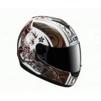 Kask motocyklowy LAZER VERTIGO Aikido biały/miedziany
