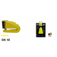 AUVRAY Blokada na tarczę  DK10 żółta, śr bolc10mm