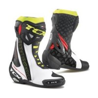 TCX BUTY RT-RACE PRO AIR WHITE/RED/YELLOW FLUO