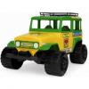 WADER 37090 Samochód terenowy JEEP zielono-żółty