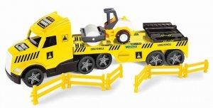 Magic Truck Technic laweta z walcem