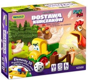 Dostawa Kurczaków gra rodzinna Wader 42500
