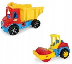 Multi Truck wywrotka z walcem Wader 32242