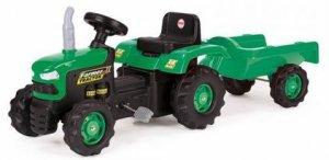 Traktor na pedały z przyczepką  DOLU