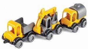 Kid Cars zestaw pojazdy budowlane