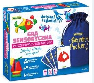 Poszukiwacz Kształtów gra sensoryczna Wader 42521