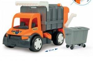 Gigant śmieciarka orange Wader 67016