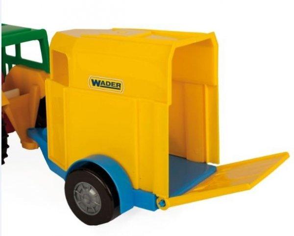Traktor z przyczepą na konia Wader 35003