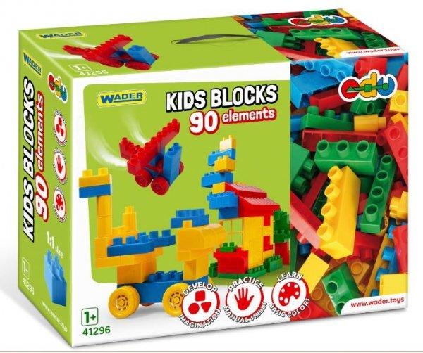 Kids Blocks klocki 90 el. Wader 41296