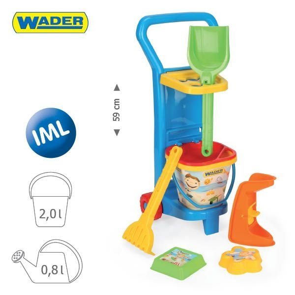Wózek plażowicza WADER 10771