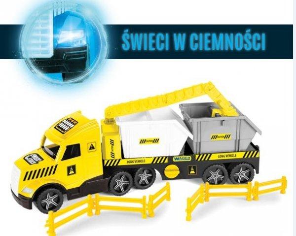 Magic Truck Technic laweta z kontenerami  36470