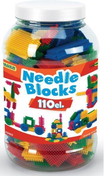 Wader 41960 Klocki jeżyki NEEDLE BLOKS - 110 el.