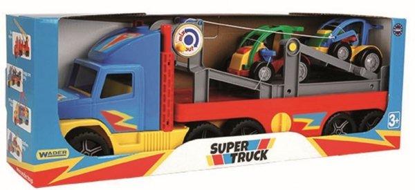 Super Truck z autkami buggy