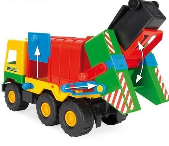 Middle Truck  śmieciarka Wader 32380