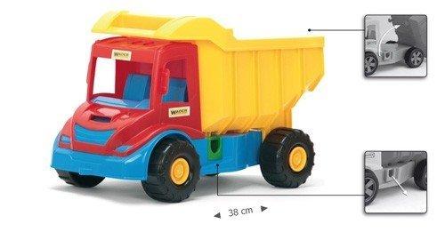 Wader 32240 Multi Truck wywrotka z koparką