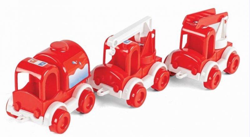 Kid Cars zestaw Straż Pożarna WADER 60020