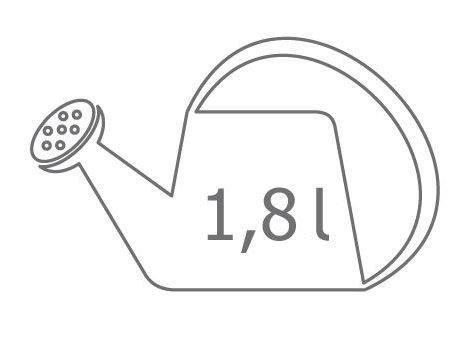 Duża Konewka 1,8 litra Wader 73670 -5 kolorów