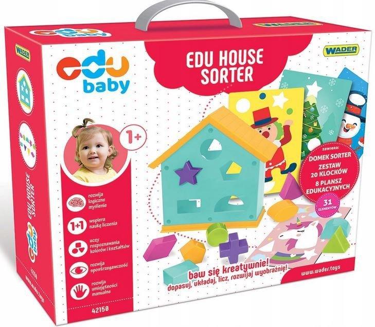 Sorter Edukacyjny House EDU BABY WADER 42150
