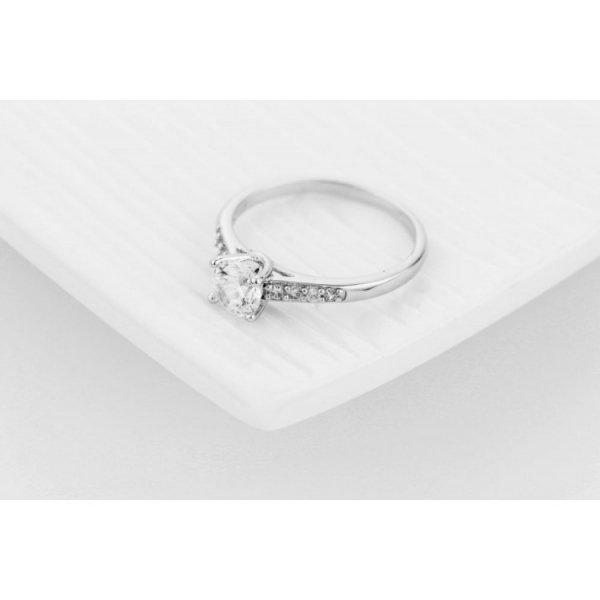 PIERŚCIONEK KRYSZTAŁKI STAL CHIRURGICZNA 468, Rozmiar pierścionków: US9 EU20