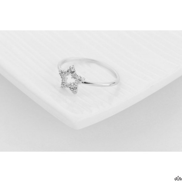 PIERŚCIONEK KRYSZTAŁKI STAL CHIRURGICZNA 473, Rozmiar pierścionków: US9 EU20
