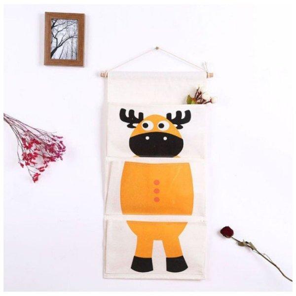 Wiszący organizer na zabawki OR14WZ1 renifer