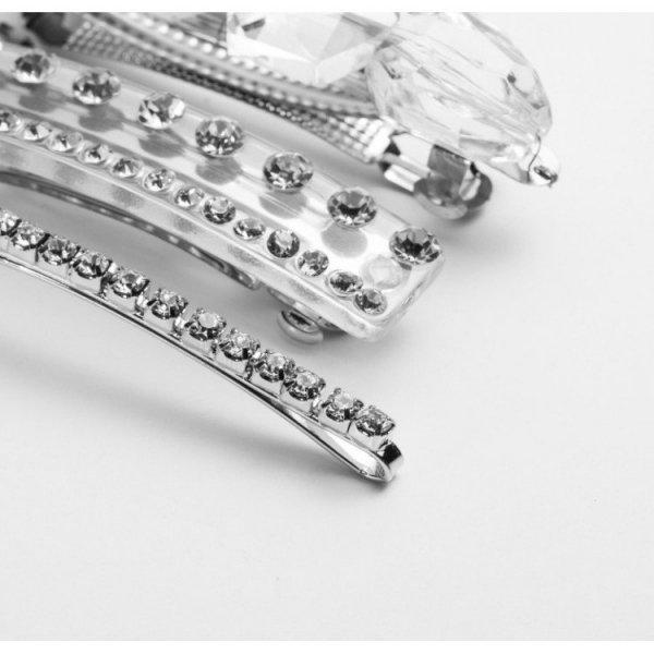 Ekskluzywny zestaw spinek srebro 3w1 SP81