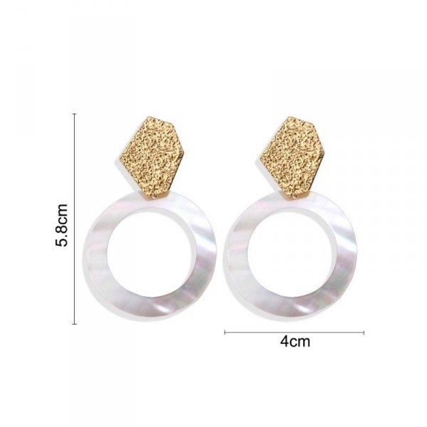 Kolczyki wiszące pearls big K1221