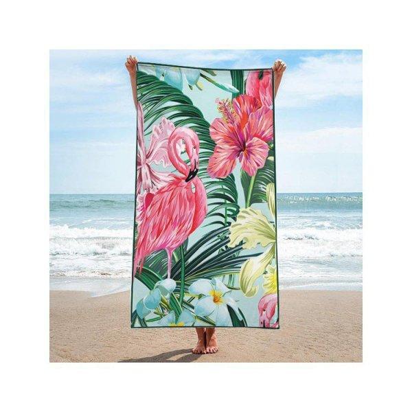 Ręcznik plażowy prostokątny mały 150x70 Flaming REC45WZ2