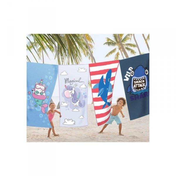 Ręcznik plażowy prostokątny mały 150x70 Unicorn REC47WZ4