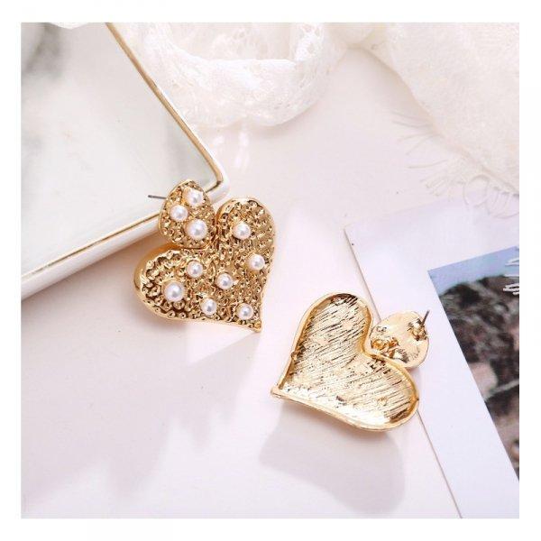 Kolczyki wiszące złote K1458
