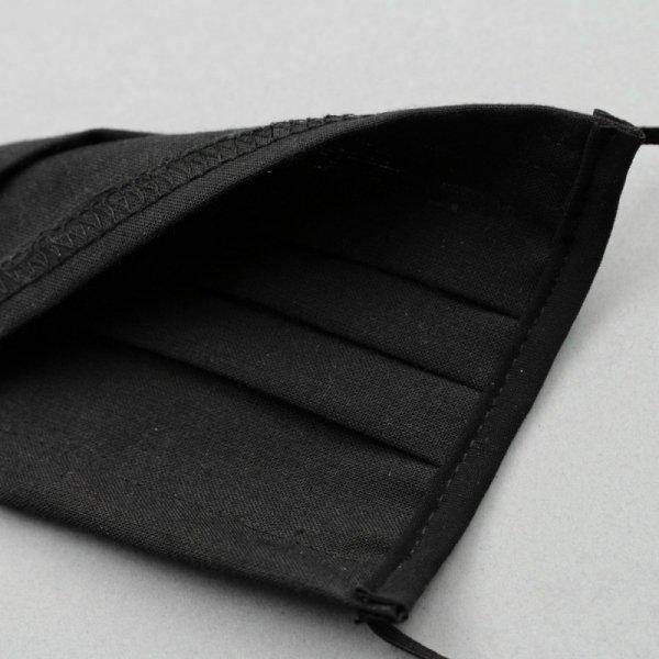Maseczka Ochronna Bawełniana Czarna - Certyfikat OEKO-TEX®
