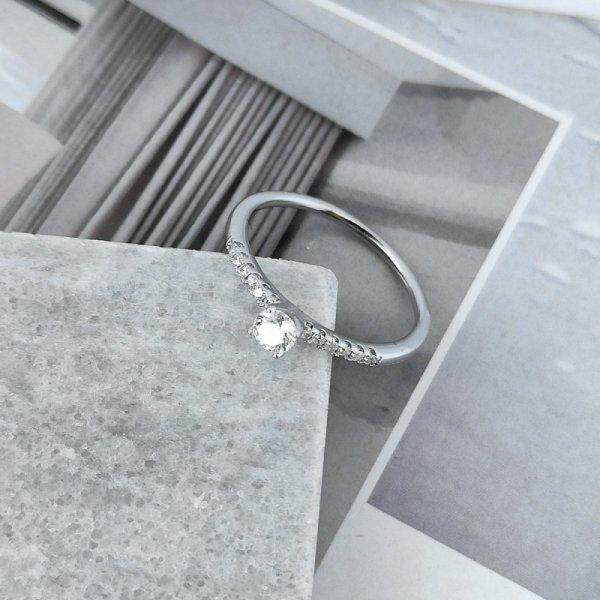 Pierścionek stal chirurgiczna platerowana złotem 561, Rozmiar pierścionków: US6 EU11