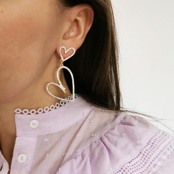 Kolczyki przy uchu GLAM K1461Z
