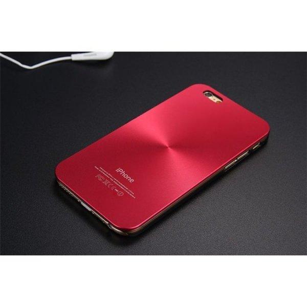 ALUMINIOWE ETUI CASE NA TELEFON IPHONE 6/6S - CZERWONE ETUI20