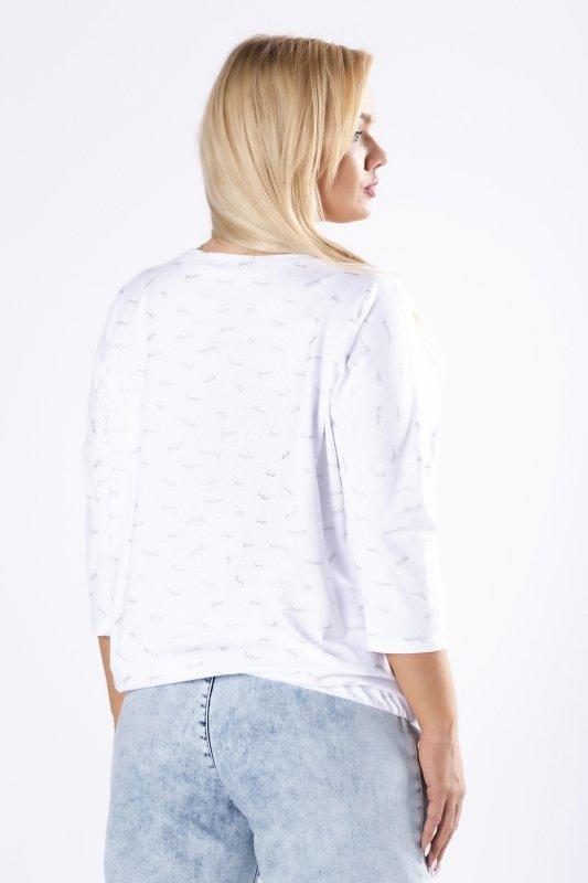 bluzka ze ściągaczem