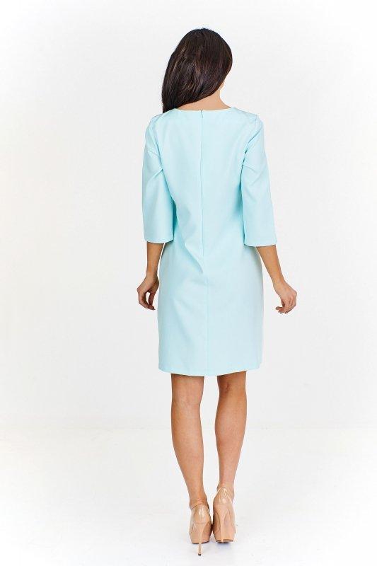 nowoczesna sukienka pudełkowa