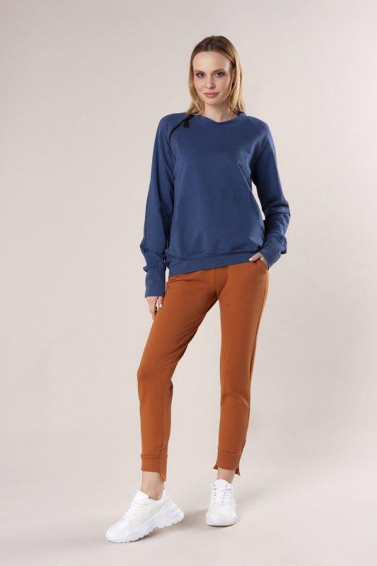 spodnie dresowe z ozdobnymi ściągaczami