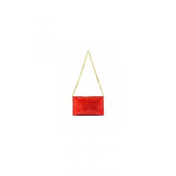 Elegancka czerwona kopertówka Sara Burglar