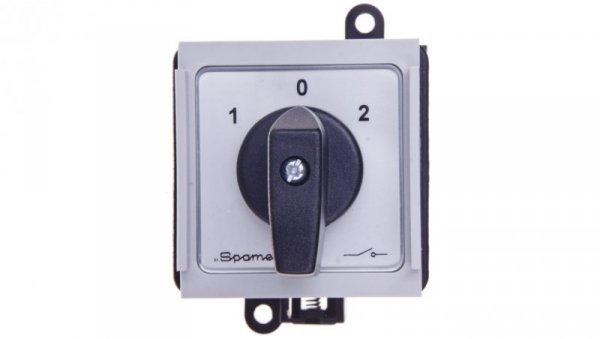 Łącznik krzywkowy sieć-agregat 2P 32A na szynę SK32-2.8338S10