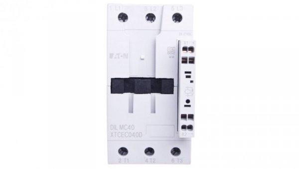 Stycznik mocy 40A 3P 24V DC 0Z 0R DILMC40(RDC24) 277979