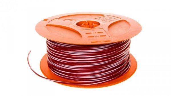 Przewód instalacyjny X07V-K 1,5 czerwony/biały 4522421S /150m/