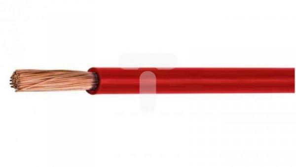 Przewód instalacyjny H07V-K (LgY) 25 czerwony /100m/